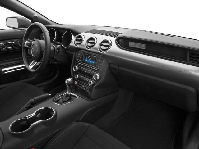 2017 Ford Mustang Prices and Values Coupe 2D V6 passenger's dashboard
