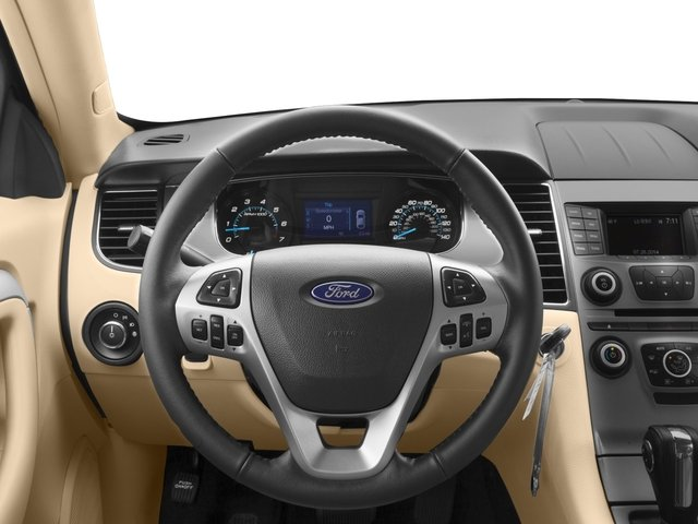 2017 Ford Taurus Prices and Values Sedan 4D SE EcoBoost I4 Turbo driver's dashboard