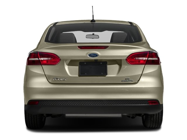 2017 Ford Focus Pictures Sel Sedan Photos Rear View