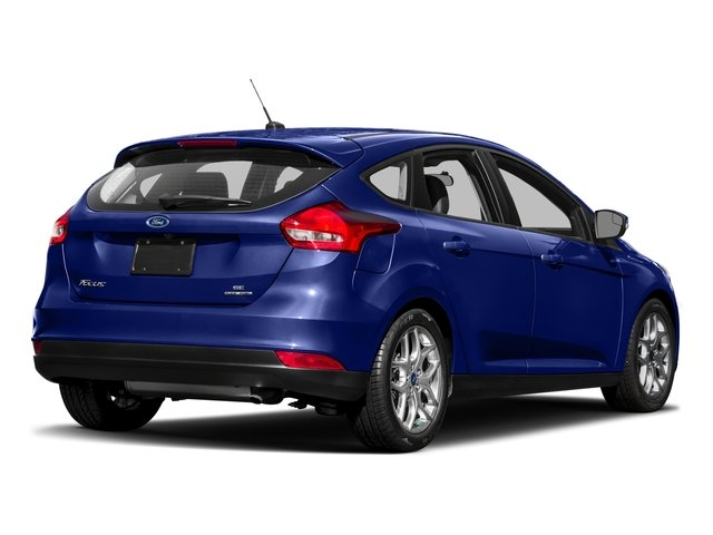 2017 Ford Focus Prices and Values Hatchback 5D SEL side rear view