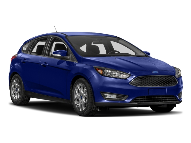 2017 Ford Focus Prices and Values Hatchback 5D SEL side front view