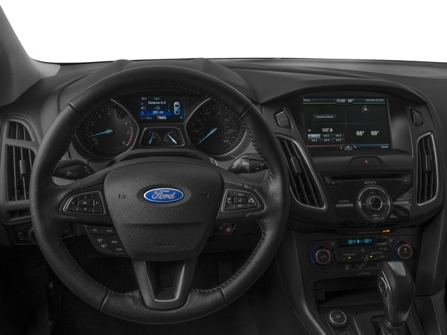 2017 Ford Focus Prices and Values Hatchback 5D SEL driver's dashboard