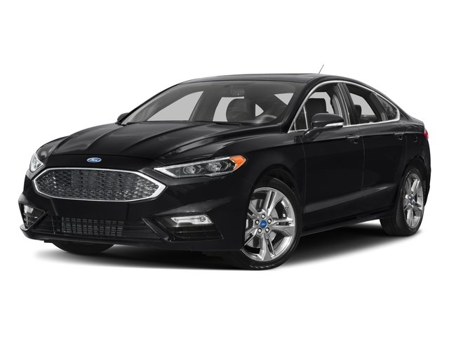 2017 Ford Fusion Pictures Fusion Sedan 4D Sport EcoBoost V4 Turbo photos side front view