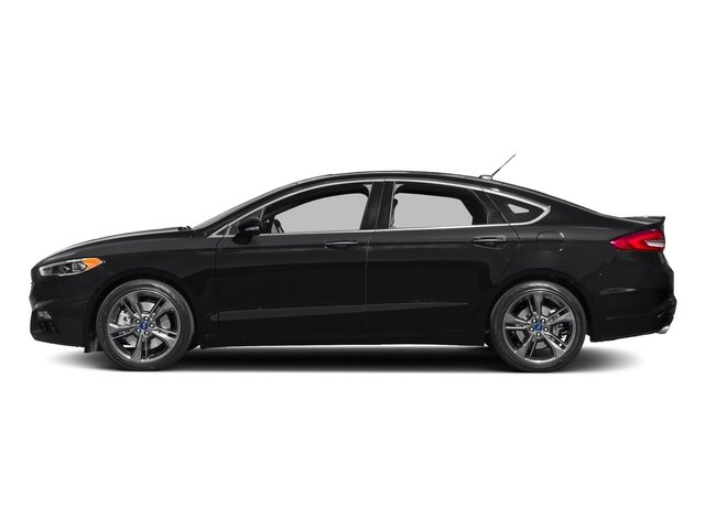 2017 Ford Fusion Pictures Fusion Sedan 4D Sport EcoBoost V4 Turbo photos side view