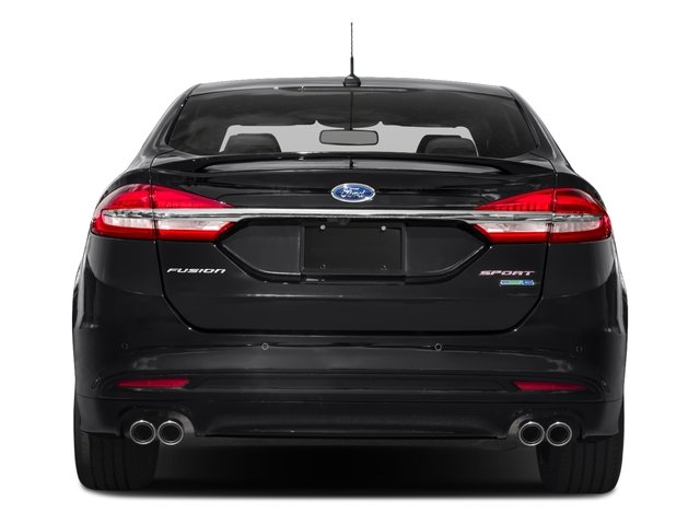 2017 Ford Fusion Pictures Fusion Sedan 4D Sport EcoBoost V4 Turbo photos rear view