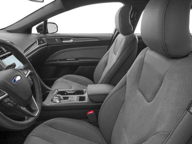 2017 Ford Fusion Pictures Fusion Sedan 4D Sport EcoBoost V4 Turbo photos front seat interior