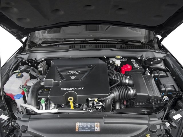 2017 Ford Fusion Pictures Fusion Sedan 4D Sport EcoBoost V4 Turbo photos engine