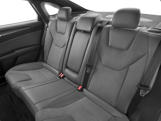 2017 Ford Fusion Pictures Fusion Sedan 4D Sport EcoBoost V4 Turbo photos backseat interior
