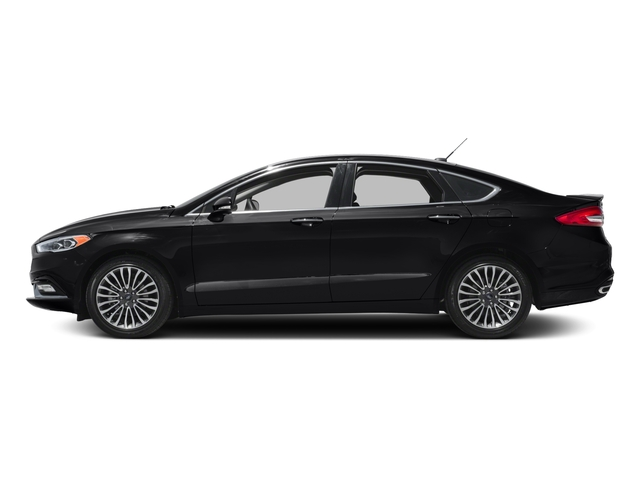 2017 Ford Fusion Prices and Values Sedan 4D Titanium I4 Turbo side view