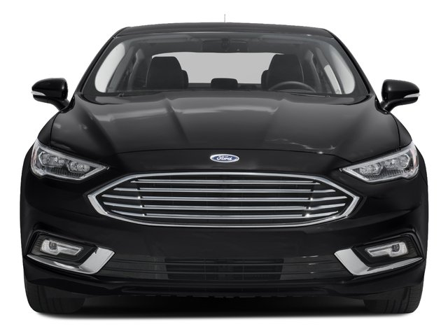 2017 Ford Fusion Prices and Values Sedan 4D Titanium I4 Turbo front view