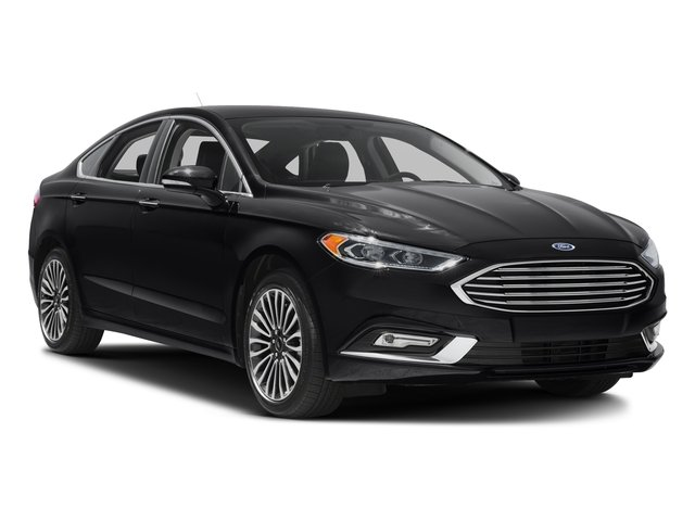 2017 Ford Fusion Prices and Values Sedan 4D Titanium I4 Turbo side front view