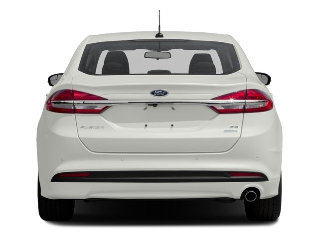 2017 Ford Fusion Prices and Values Sedan 4D SE AWD I4 Turbo rear view