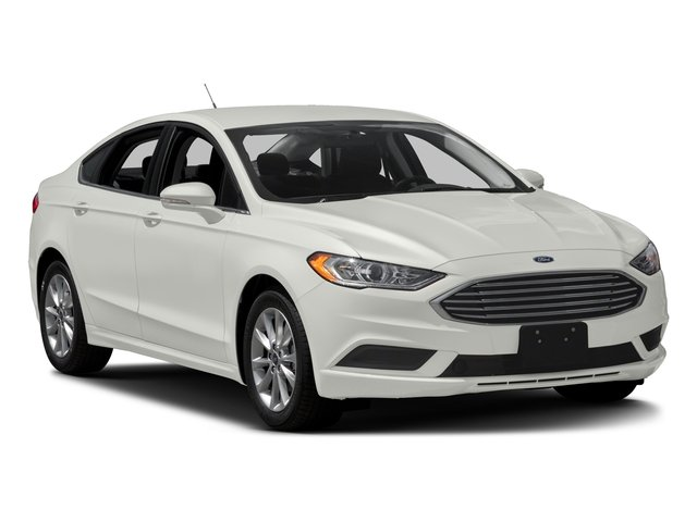 2017 Ford Fusion Prices and Values Sedan 4D SE AWD I4 Turbo side front view