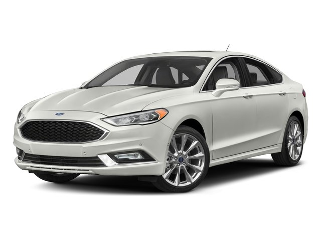 2017 Ford Fusion Base Price Platinum Awd Pricing Side Front View