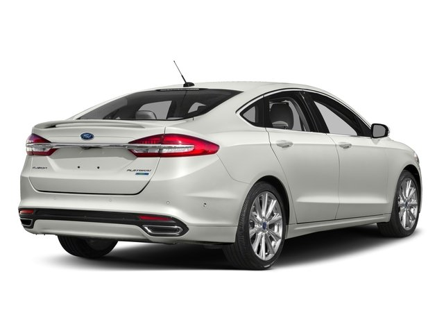 2017 Ford Fusion Base Price Platinum Awd Pricing Side Rear View