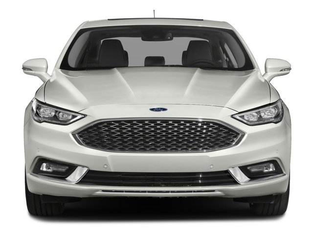 2017 Ford Fusion Pictures Fusion Sedan 4D Platinum AWD I4 Turbo photos front view