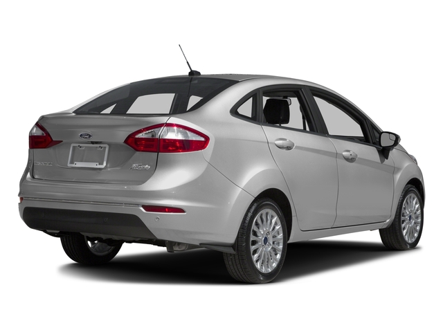 2017 Ford Fiesta Prices and Values Sedan 4D Titanium I4 side rear view