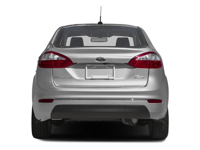 2017 Ford Fiesta Prices and Values Sedan 4D Titanium I4 rear view