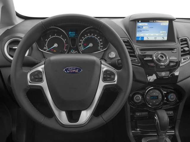 2017 Ford Fiesta Prices and Values Sedan 4D Titanium I4 driver's dashboard