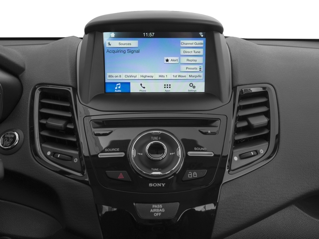 2017 Ford Fiesta Prices and Values Sedan 4D Titanium I4 stereo system