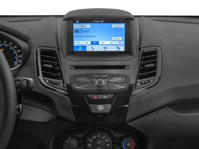 2017 Ford Fiesta Prices and Values Hatchback 5D S I4 stereo system