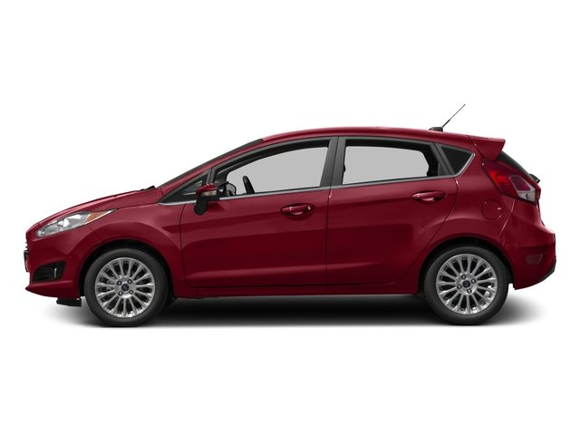 2017 Ford Fiesta Pictures Fiesta Hatchback 5D Titanium I4 photos side view