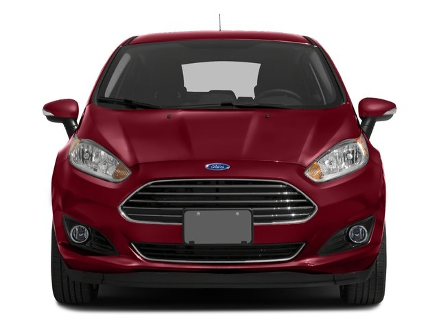 2017 Ford Fiesta Pictures Fiesta Hatchback 5D Titanium I4 photos front view