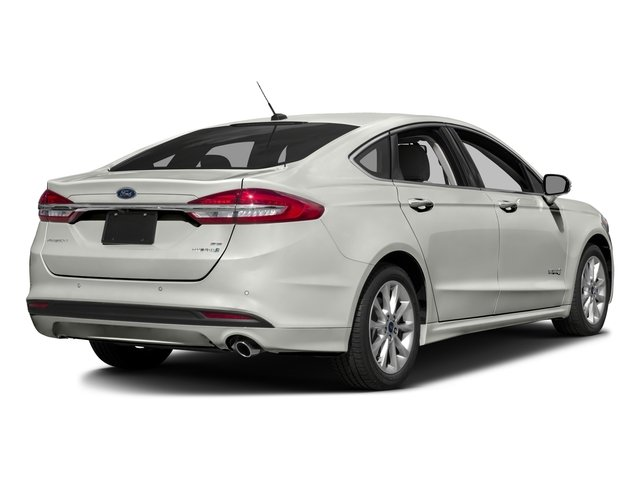 2017 Ford Fusion Prices and Values Sedan 4D SE I4 Hybrid side rear view