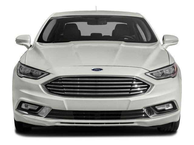 2017 Ford Fusion Prices and Values Sedan 4D SE I4 Hybrid front view