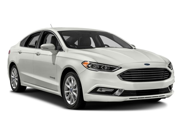 2017 Ford Fusion Prices and Values Sedan 4D SE I4 Hybrid side front view