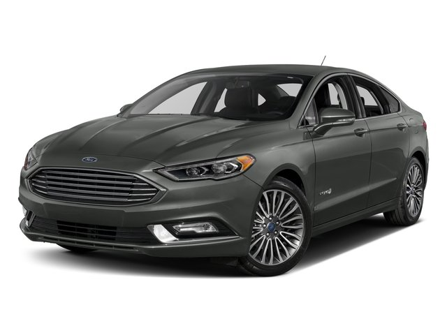 2017 Ford Fusion Pictures Hybrid Anium Fwd Photos Side Front View