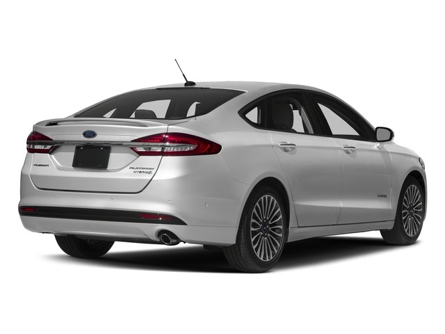 2017 Ford Fusion Prices And Values Sedan 4d Platinum I4 Hybrid Side Rear View
