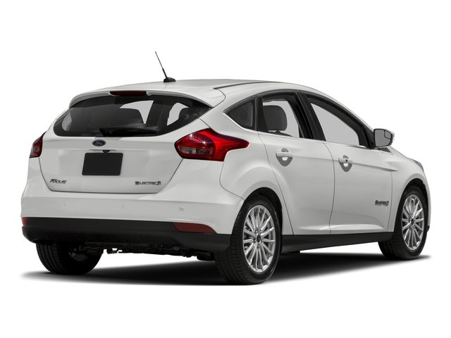 2017 Ford Focus Base Price Electric Hatch Pricing Side Rear View