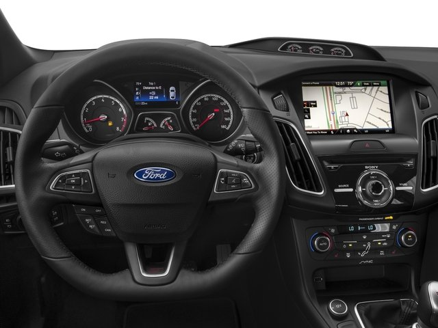 2017 Ford Focus Prices and Values Hatchback 5D ST I4 Turbo driver's dashboard