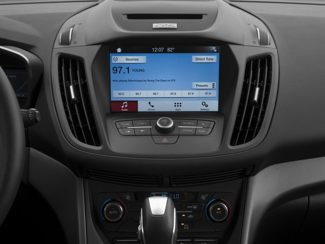 2017 Ford C-Max Hybrid Pictures C-Max Hybrid Hatchback 5D SE I4 Hybrid photos stereo system