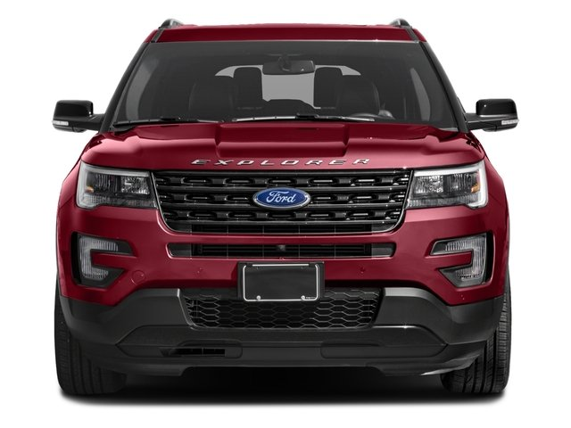 2017 Ford Explorer Prices and Values Utility 4D Sport 4WD V6 front view