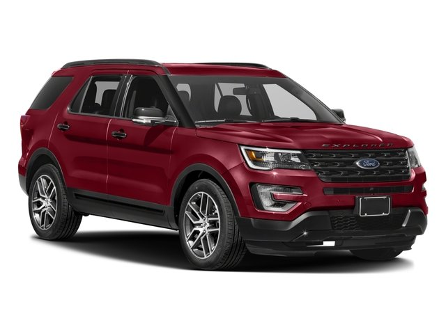 2017 Ford Explorer Prices and Values Utility 4D Sport 4WD V6 side front view