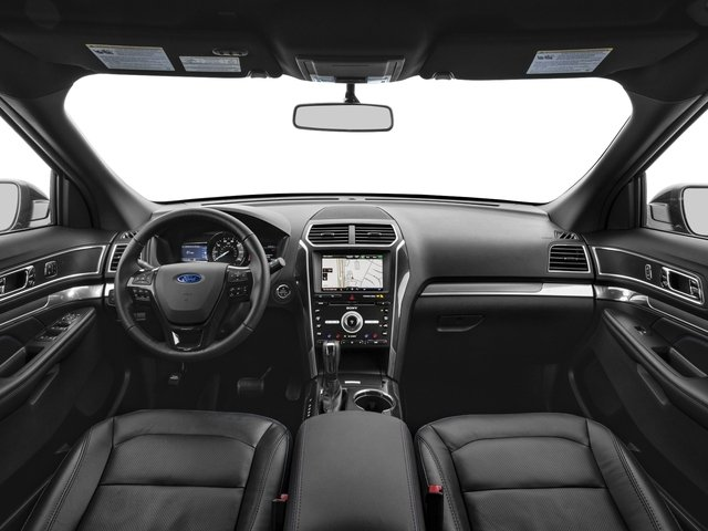 2017 Ford Explorer Prices and Values Utility 4D Sport 4WD V6 full dashboard