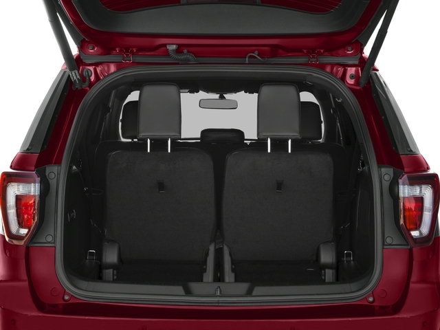 2017 Ford Explorer Prices and Values Utility 4D Sport 4WD V6 open trunk
