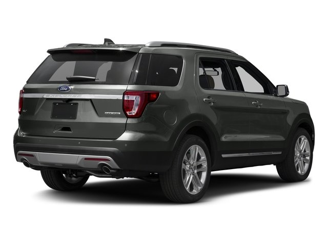 2017 Ford Explorer Prices and Values Utility 4D XLT 2WD V6 side rear view
