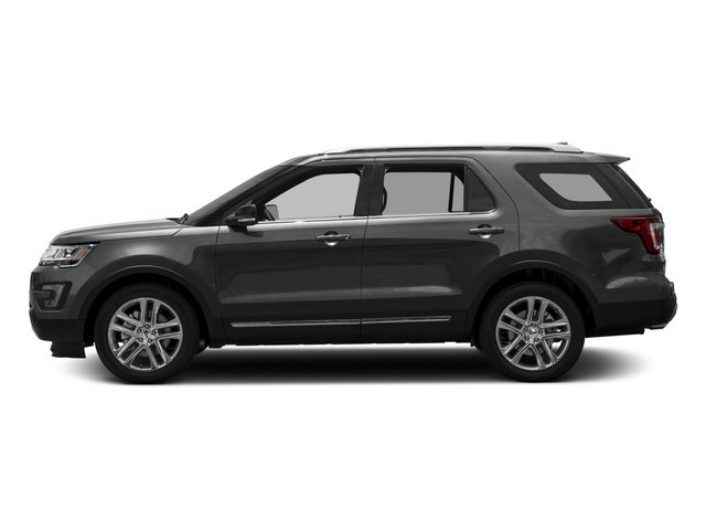2017 Ford Explorer Prices and Values Utility 4D XLT 2WD V6 side view