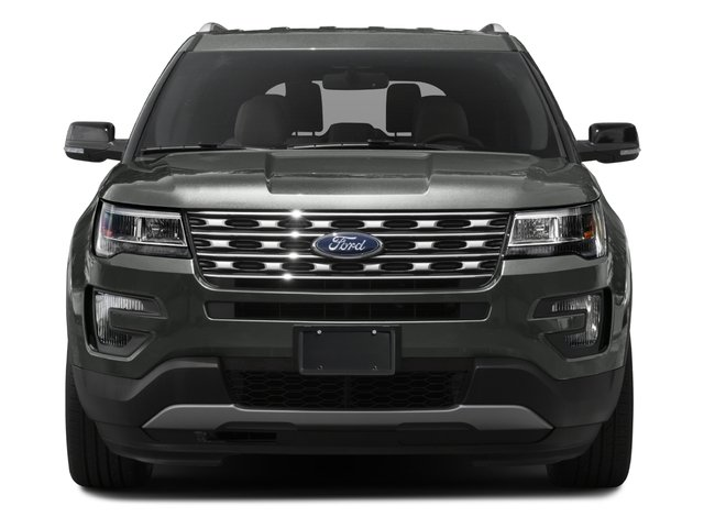 2017 Ford Explorer Prices and Values Utility 4D XLT 2WD V6 front view