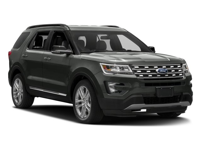 2017 Ford Explorer Prices and Values Utility 4D XLT 2WD V6 side front view