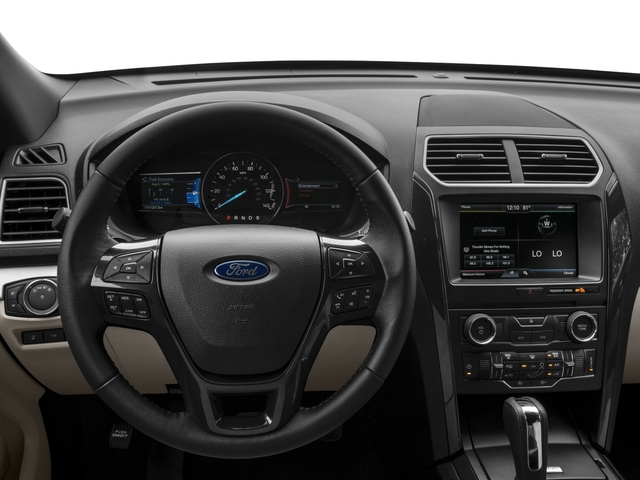 2017 Ford Explorer Prices and Values Utility 4D XLT 2WD V6 driver's dashboard