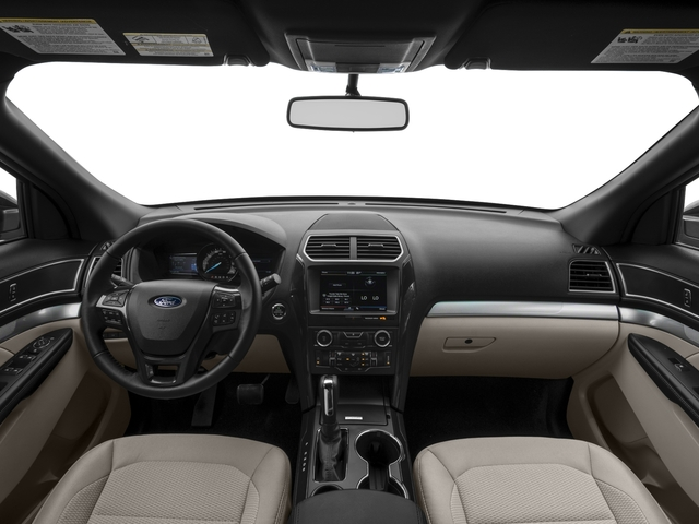 2017 Ford Explorer Prices and Values Utility 4D XLT 2WD V6 full dashboard