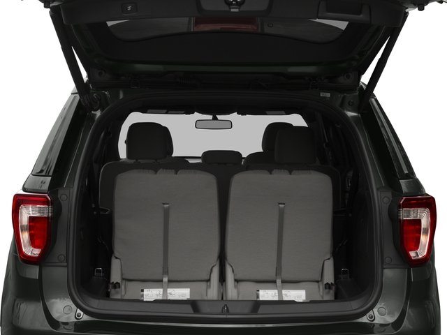 2017 Ford Explorer Prices and Values Utility 4D XLT 2WD V6 open trunk