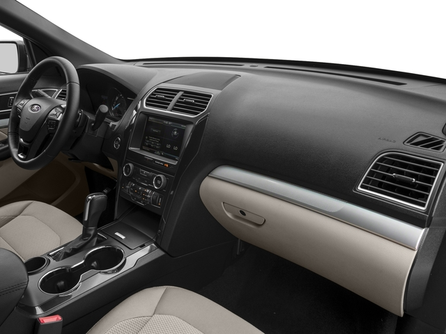 2017 Ford Explorer Prices and Values Utility 4D XLT 2WD V6 passenger's dashboard