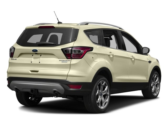 2017 Ford Escape Prices and Values Utility 4D Titanium 2WD I4 Turbo side rear view