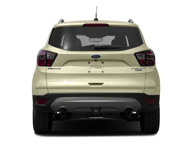 2017 Ford Escape Prices and Values Utility 4D Titanium 2WD I4 Turbo rear view