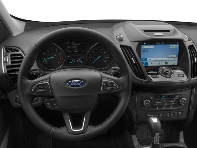 2017 Ford Escape Prices and Values Utility 4D Titanium 2WD I4 Turbo driver's dashboard